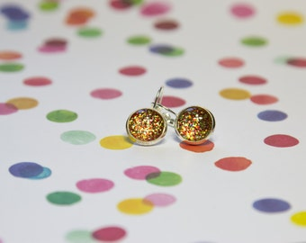 Christmas Sparkle Drop Lever Earring