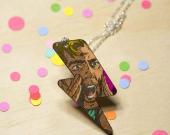 Bolt Comic Necklace