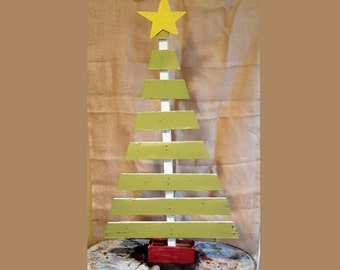 wood christmas tree rustic green pallet christmas tree large farmhouse wood - Wood Christmas Tree
