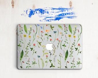 Flower Macbook Air 11 13 15 Pro Laptop Clear Laptop Macbook Transparent Case Macbook Pro Cover Apple New Mac Case Macbook New Laptop Touch