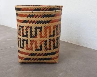 Urucuna Basket / Handmade Woven Basket / Ethnic Basket / Primitive Decor