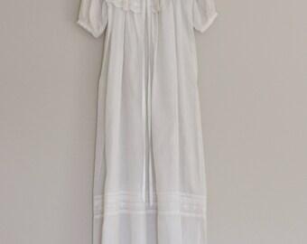 Vintage Victorian Christening Gown