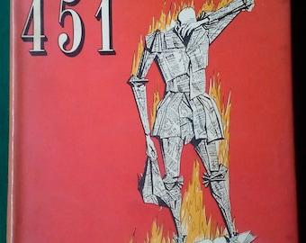 Fahrenheit 451 by Ray Bradbury. London: Rupert Hart-Davis, 1954. First UK Edition.