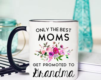 New Grandma Mug, New Grandma, Grandma Mug, Grandma Gift, Coffee Mug, Pregnancy Reveal, Grandma Coffee Mug, New Grandma Gift, Grandma to be