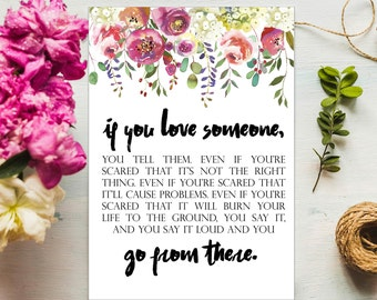 Someone you love | Etsy