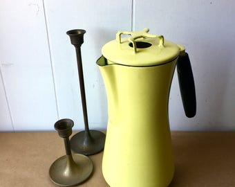 Milanoware by Lantoni Carafe/Coffee Pourer - Dansk-Style - Highlighter Yellow - Mid Century Kitchen - Serving Party