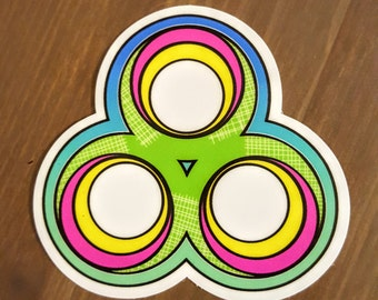 2 Bonnaroo Stickers  ~~2017 Theme~~