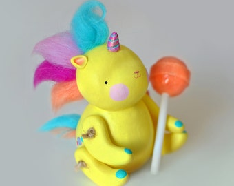 Unicorn Sculpture OOAK