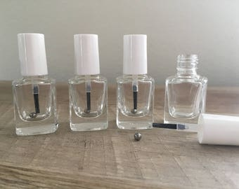 25 Empty Nail Polish Bottles 12.5ml