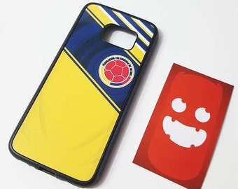 Colombia Phone Case, cell phone case personalized with the colours of the Seleccion colombiana football James, Falcao, Cuadrado, etc.