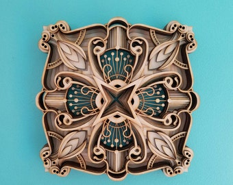 """Laser Cut Wall Sculpture - """"Essie Ging Ging"""""""