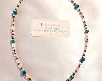 Centering Stone necklace for joy