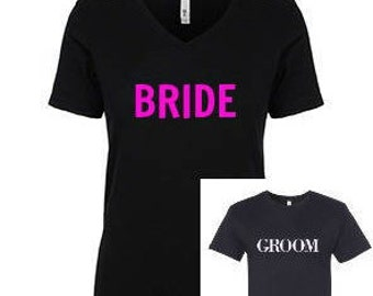 Bride and Groom novelty gift set