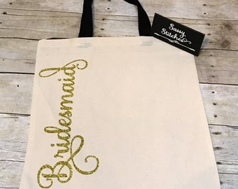Bridesmaid gifts, bridesmaid bags, bridal party gifts, gifts for bridesmaids, wedding party gifts, bridesmaids tote bags, bridesmaids items