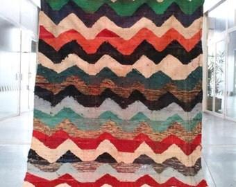 carpet Berber 280x156cm k0010 moroccan kilim rug berber kilim