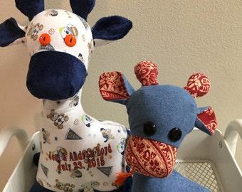 Stuffed Giraffe (Treasured Keepsake)