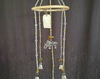 Elephant sun catcher/wind chime