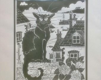 Le Chat Noir at Mevagissey
