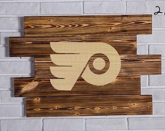 Philadelphia Flyers Wood Sign Philadelphia Flyers Wall art Philadelphia Flyers Gift Philadelphia Flyers Birthday Philadelphia Flyers Party