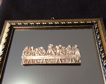 Pewter Last Supper Wall Decor