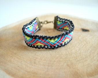 "Brazilian ""Summer Color"" pattern bracelet"