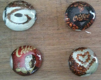 Coffee Lover Magnets. Kitchen Magnets. Birthday Gift.
