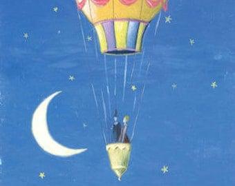 The balloon of love