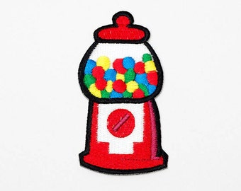Set of 1 - The Vintage Jar and Colourful Ball. Iron-on Patch/Flex stickers/Applique