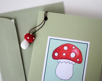 Lucky card with pendant