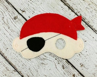Pirate Mask #1 - Pirate Party - Party Favor - Pirate Costume