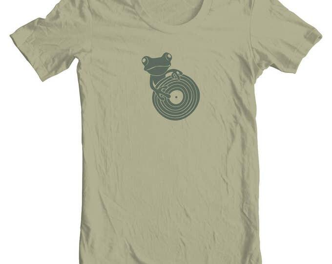 Frog DJ T-Shirt, Unisex
