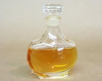 L'Air du Temps Nina Ricci Lalique Bottle Vintage Perfume Early Glass Stopper