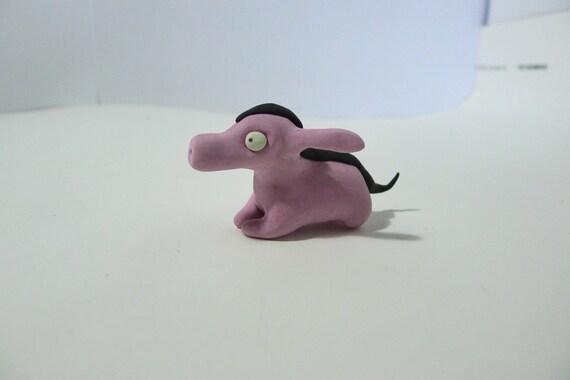 Wild Hog- Handmade Unique Creature