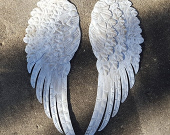 Superieur Metal Angel Wings Wall Decor Shabby Chic Angel Wings