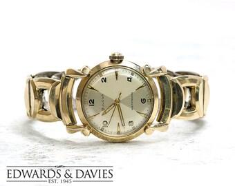 Bulova Vintage Watch | Vintage Watch | Antique Watch | Men's Gold Watch | Men's Accessory | Men's Accessories | Watch | Bulova Watch