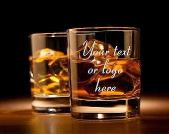 Personalized Whiskey Glass, Rocks Glasses, Engraved glass, Groomsmen glasses, Personalized glasses, Customized glass, Groomsman gift, custom