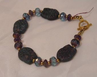 HANDMADE OWL BEADED Bracelet