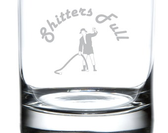 Shitters Full - Christmas Vacation Tribute Laser Etched Drinkware