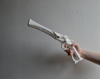 Bloodborne Hunter Pistol 3D Printed Cosplay / Display Prop