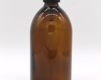 Black Plastic Soap Dispenser Pump