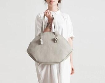EYE leather shoulder bag