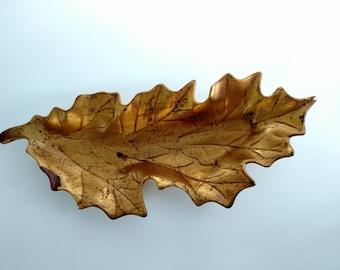 Gold Leaf Anthony USA Dish