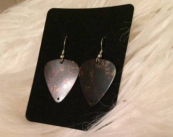 Guitar Pick Earrings - Classic