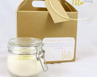 Disney Inspired ~ Belle Candle