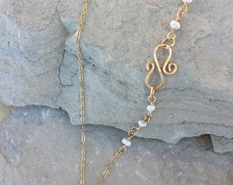 Four Pearls necklace