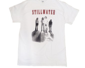 Stillwater T-shirt As The Band Is Given In Almost Famous Movie Tour Shirt Music Merch Still Water Penny Lane Russell Hammond Adult White