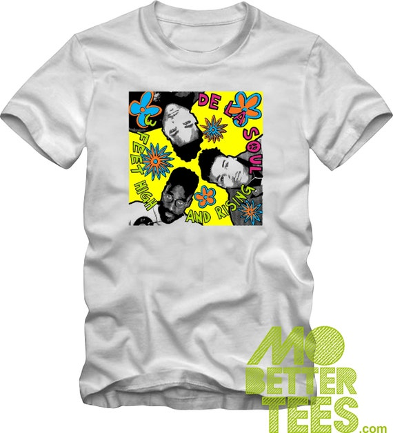 3 Feet High And Rising White T-Shirt (Remake) Graphic Tee, Adult, Children, and Toddler sizes
