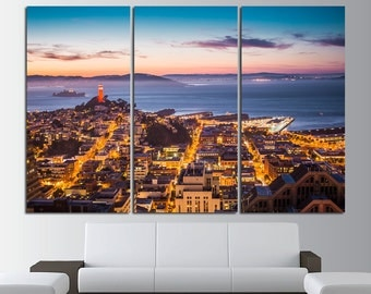 San Francisco Wall Art San Francisco Wall Decor San Francisco City San  Francisco Canvas San Francisco Print San Francisco Photo California