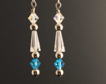 Blue Earring Collection