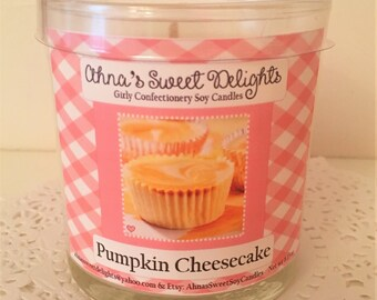 Pumpkin Cheesecake Girly Confectionery Soy Candle